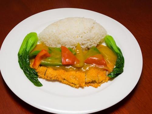 Curry chicken chops